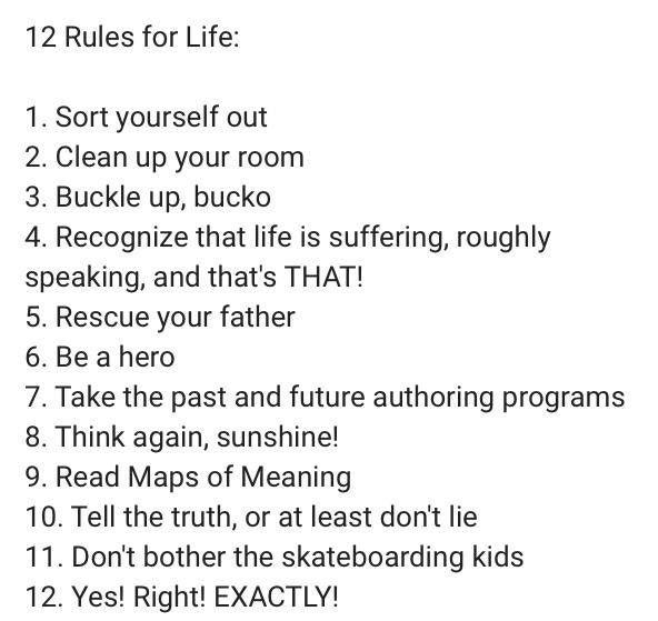 12 rules of life jordan peterson epub