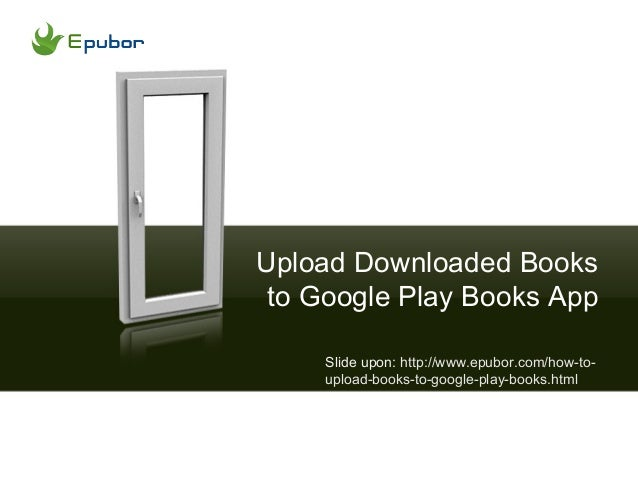 google play books download epub