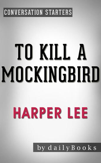 harper lee to kill a mockingbird epub