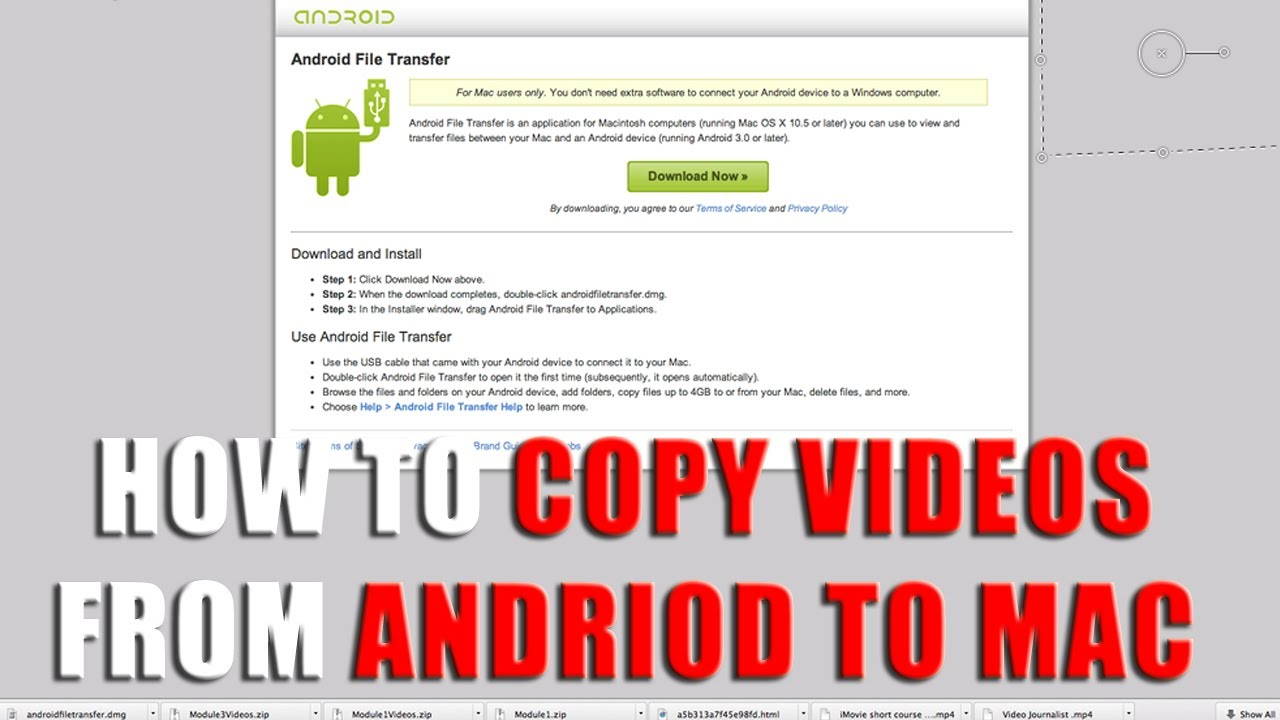 how to transfer ebooks from mac to android