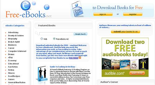websites for free ebooks pdf downloading