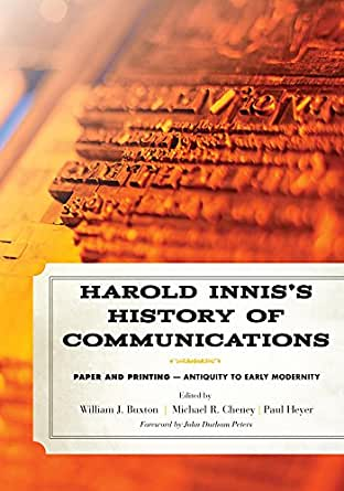 harold innis paul heyer ebook