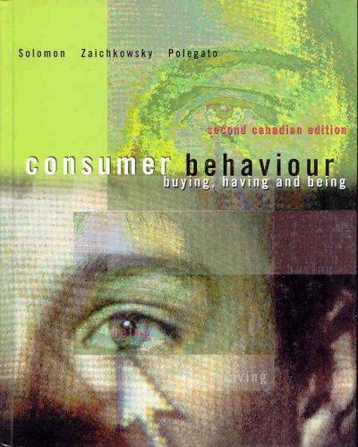 consumer behaviour canadian edition ebook