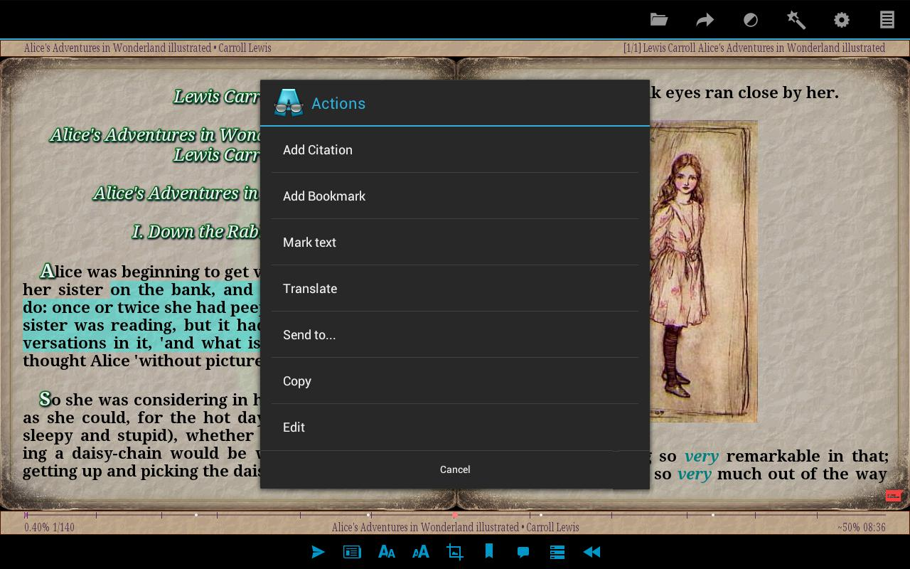 epub reader for android free download apk