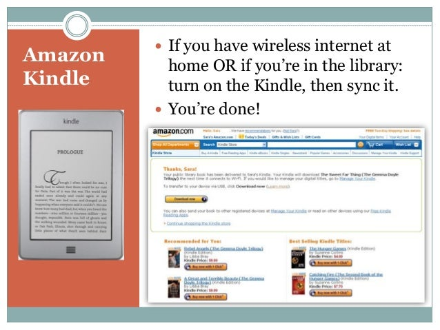 how to download ebooks to kindle via usb cable