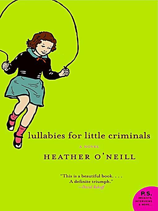 lullabies for little criminals epub