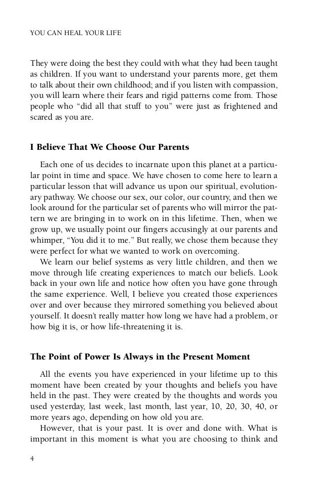 you can heal your life ebook